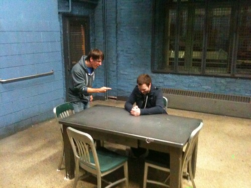 Me Grilling Dan Mcd In Law Amp Order Svu S Interrogation Roo
