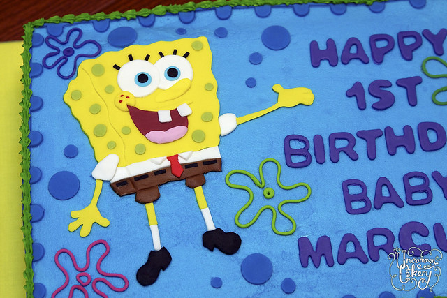 Spongebob Birthday Cake Images
