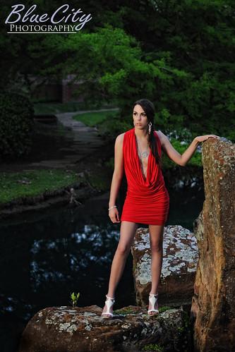 red portraits pond model rocks shoot texas dress modeling tx dresses lakejackson angleton modelmayhem michellecarroll brazoriacounty bluecityphotography bluecityphotographycom ashcouture