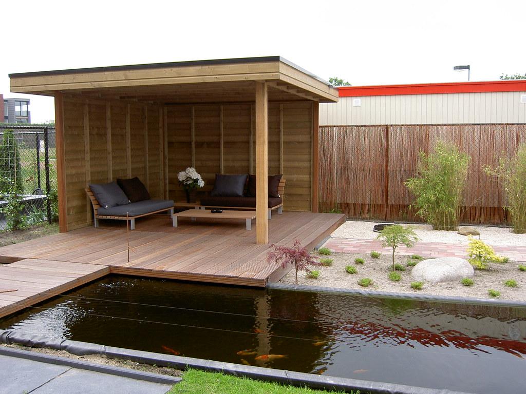 Vlonder In Tuin : Tuin met vlonder en water tuin met vlonder en water ontweru2026 flickr
