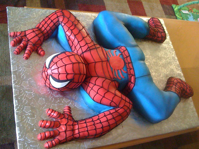 Google Images Spiderman Cake : Spiderman Cake Flickr - Photo Sharing!