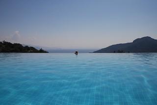 The infinity pool at the Dionysos, Kumlubük, May 2009