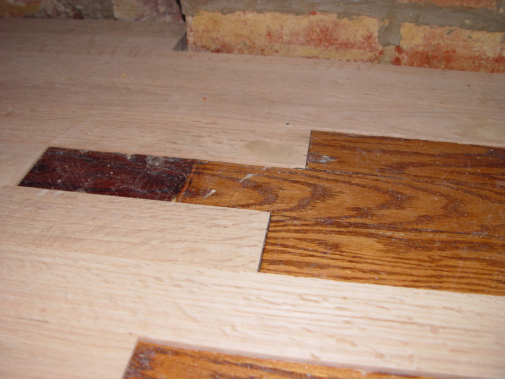 Sanding New Hardwood Floors Creating Our Home Office Part 2 Repairing And Refinishing Our