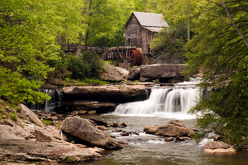 Glade Creek Grist Mill: Clifftop, WV
