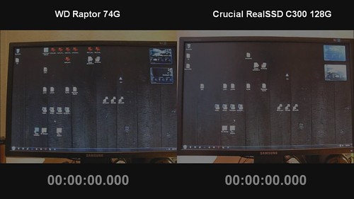 WD Raptor HDD vs RealSSD C300 - Loading Visual Studio