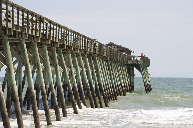 Fishing pier at myrtle beach state park 4 explore for Fishing piers in myrtle beach
