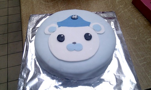 Captain Barnacles Bear - Octonauts Cake