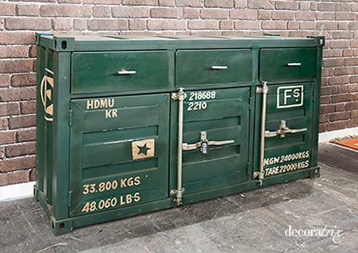 Mobiliario de estilo vintage e industrial 3 flickr - Mobiliario industrial vintage ...
