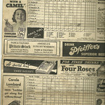 1937 Box Score, Tigers vs Yankees