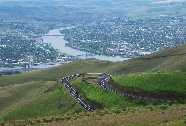 Clarkston (WA) United States  city pictures gallery : Spiral Highway above Lewiston and Clarkston... 20110602 8955 | Flickr ...