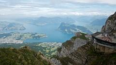 Lake Luzern from Pilatus Kulm