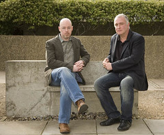 John Boyne and Joseph O'Connor
