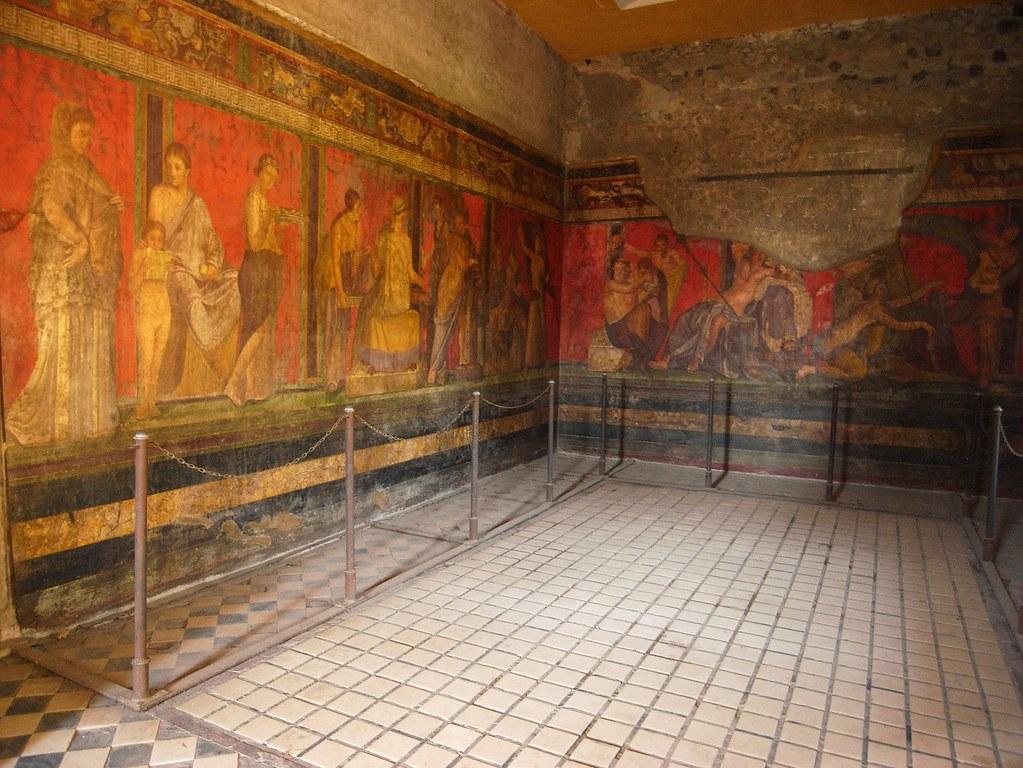 Pompeiian Panel