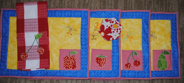 Placemat Quilt Swap 6 - Package