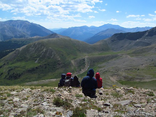 Colorado Guy has a lot of interesting hikes, including the social trail up Point 12812 at Independence Pass in Colorado