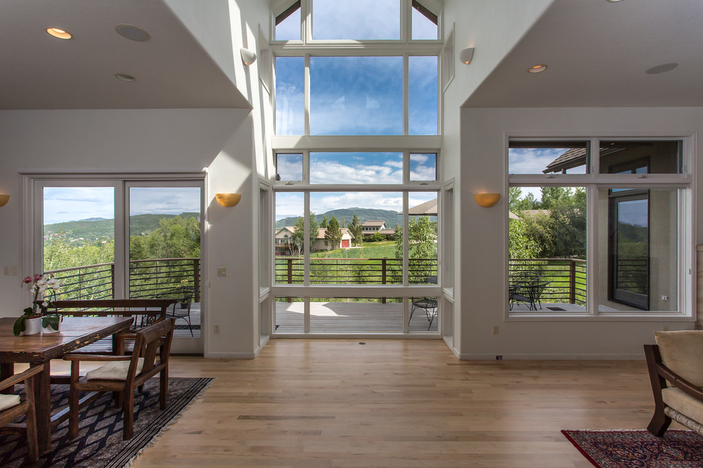 Steamboat luxury home for sale, contemporary, views, Fish Creek Falls
