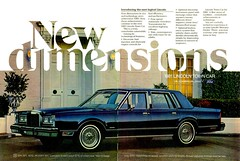 1981 Lincoln Four-Door Town Car