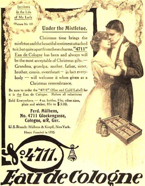 From Incidents In The Life of My Lady,1911 Vintage Ad 4711 Eau de C -> Vintage Möbel Leihen Köln