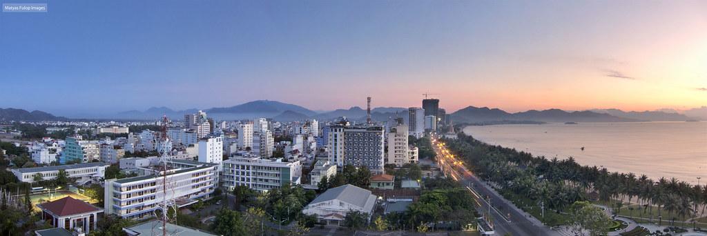 Nha Trang dawn pano