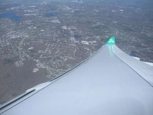 Back to Boston - Back on the plane - Aerlingus from Dublin to Boston by litlesam