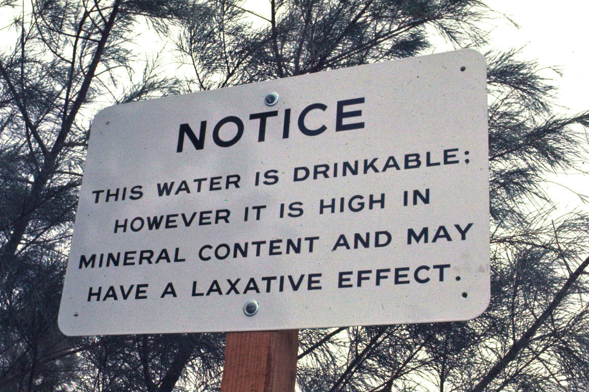 Laxative Water Sign