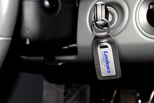 Lookers Medallion Leather Keyfob