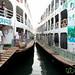 Passenger Boats at Sadarghat - Dhaka, Bangladesh