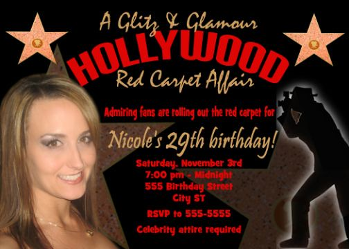 296 Best Hollywood birthday party theme images | Hollywood ...