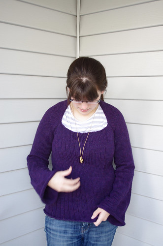 Epic Knitting Fails : Indie knits epic fail purple sweater