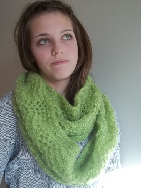 olive green cowl