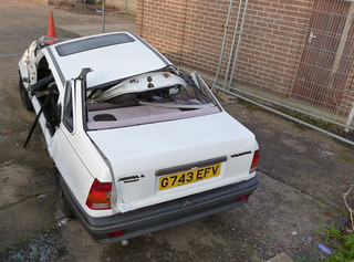 1989/90 Vauxhall Belmont L - After