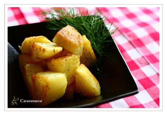 ポテトのオリーブオイル焼