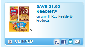 Keebler Products Coupon