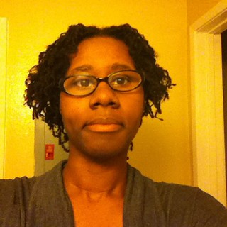 My Sisterlocks after styling