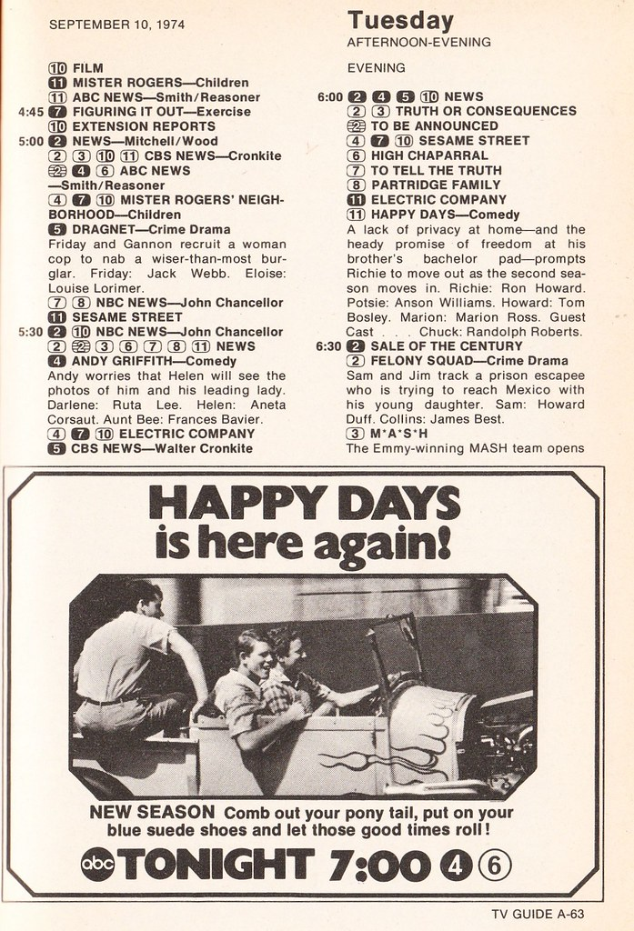 Happy Days promo