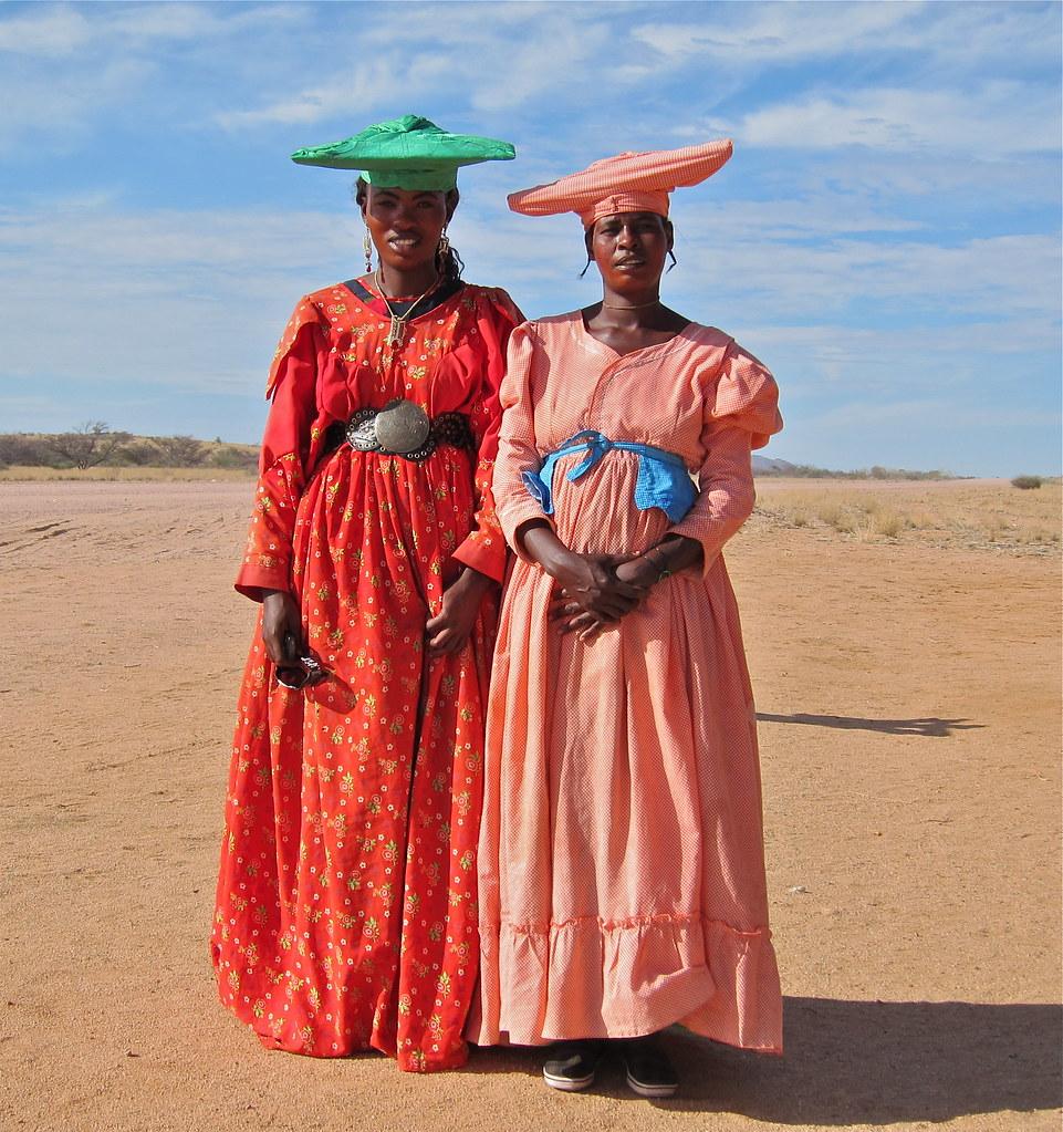 Herero Women, Damarland, Namibia