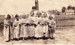 Geisha Day at the Ainsworth School, 1919.