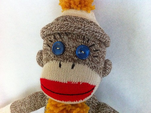 Sock Monkey #44 replacement monkey