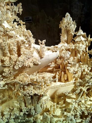 Carved ivory, Belz Museum, Memphis, Tenn.