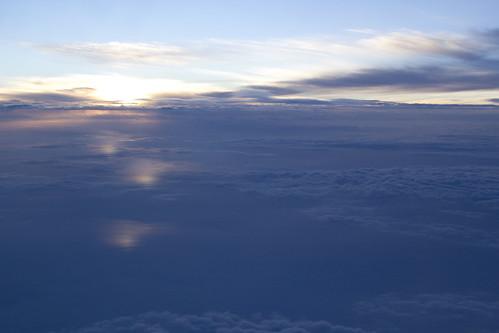 雲の上のサンセット