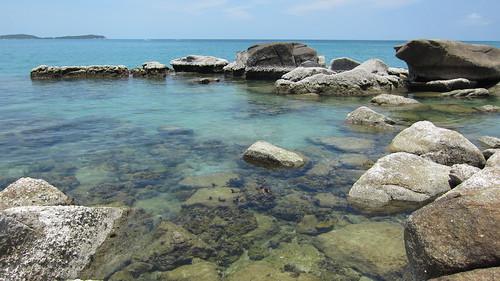Koh Samui Chaweng Beach →Chaweng Noi Beach サムイ島チャウエンビーチからチャウエンノイビーチへ岩越え (9)