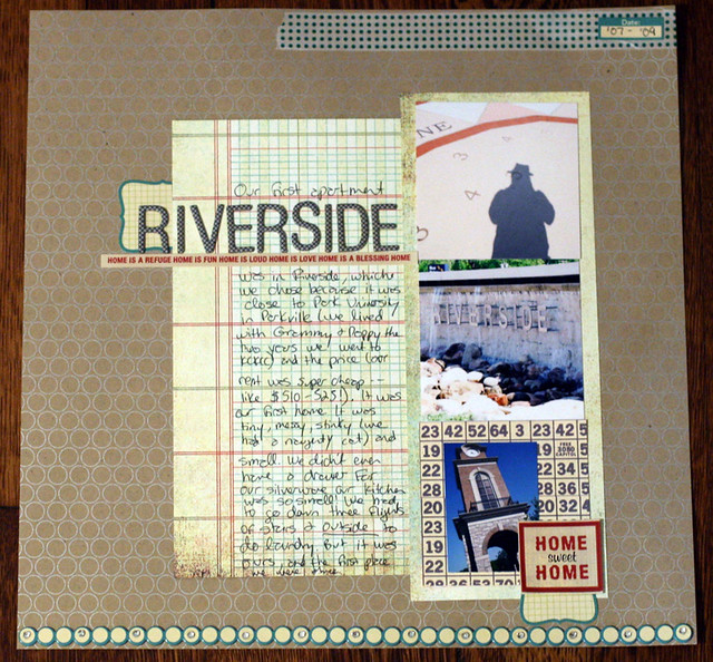 Riverside | Scrap Where You Lived