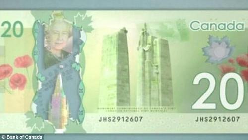 Canada's new $20 bill