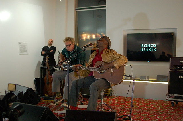 Jimmy Cliff at Sonos Studio