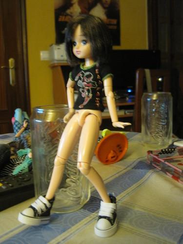 Yuki con converse