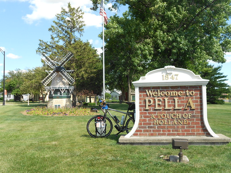 TLR tour USA, Day 24, Des Moines to Pella