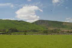 Mam Tor from the Village