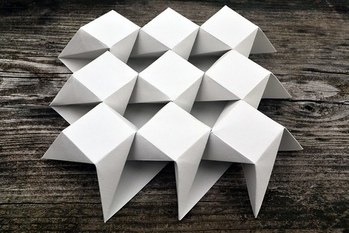 Ron Resch {8.8.4}B Tessellation