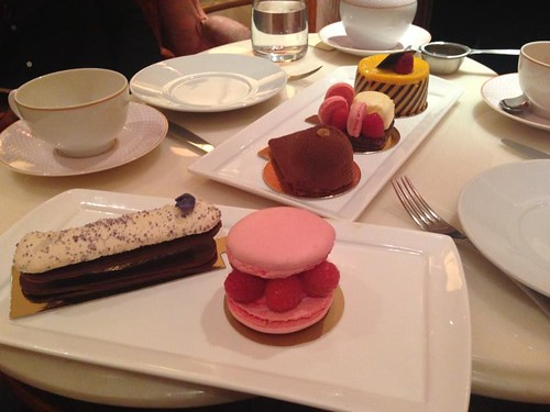 Sofitel St James afternoon rose tea
