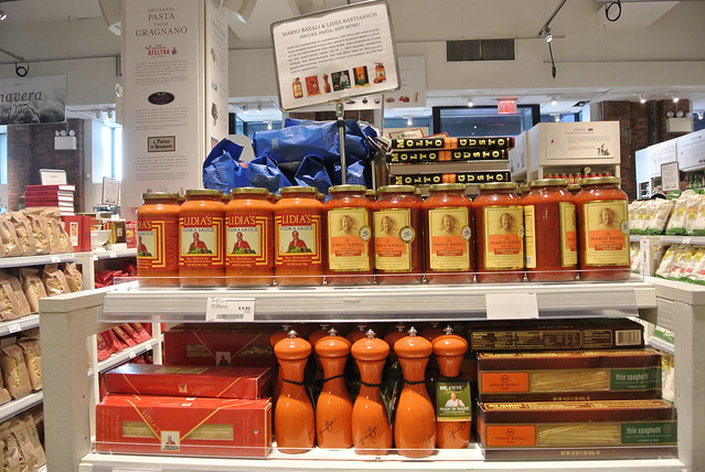 Lidia Bastianich sauces at Eataly